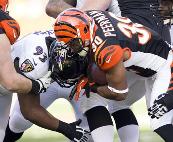 The Bengals rushing attack struggled for the second straight week; this time without BenJarvus Green-Ellis.