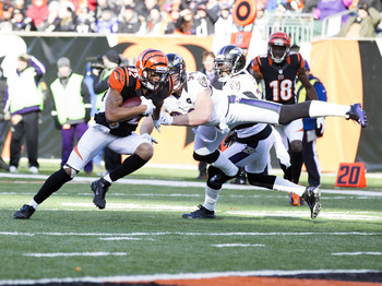 Marvin Jones became the go-to target for both Dalton and Gradkowski against the Ravens.