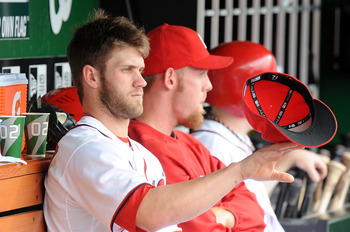One of the many talents of Bryce Harper.
