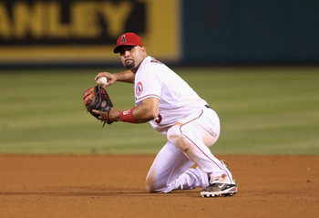 Pujols began his Angels career in an ugly slump.