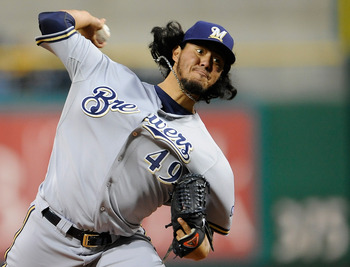 Yovani Gallardo is Milwaukee's undisputed ace.
