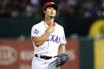 Yu Darvish was unhittable at times during his debut season.