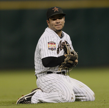 Second baseman Jose Altuve won't have much help in 2013.