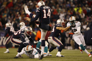 Zoltan Mesko was a huge weapon punting the ball for the Patriots on Sunday.