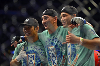Max Holloway is working his way up the featherweight division, and could make fireworks with Garcia.