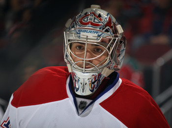 Carey Price of the Montreal Canadiens.