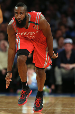 James Harden has exploded with the Houston Rockets.