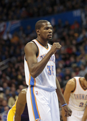 Kevin Durant and the Thunder are still rolling without Harden.