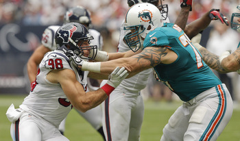 Tackle- Jake Long of the Miami Dolphins