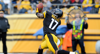Wide Receiver- Mike Wallace of the Pittsburgh Steelers