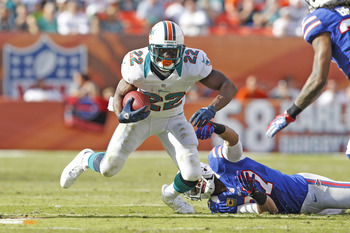 Running Back- Reggie Bush of the Miami Dolphins