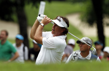 Phil Mickelson may be headed on a downward slide in 2013.