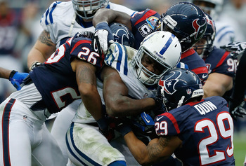 Vick Ballard sealed the game by basically taking on the whole load during the Colts' game-clinching, 9-minute drive.