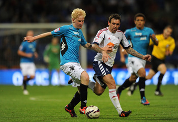 Will Hughes in action for Derby