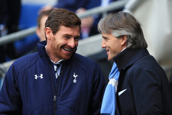 Villas-Boas will hope to be competing with the likes of Roberto Mancini's Man City.
