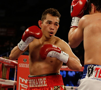Nonito Donaire in his fourth world championship fight of the year.