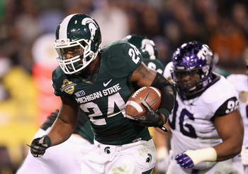 Le'Veon Bell = Pretty Much The Entire MSU Offense in 2012