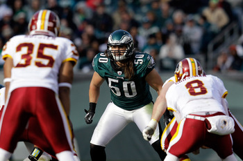 Casey Matthews suffered a concussion in Week 17.