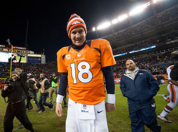Smile Peyton, you have just won 11 consecutive.