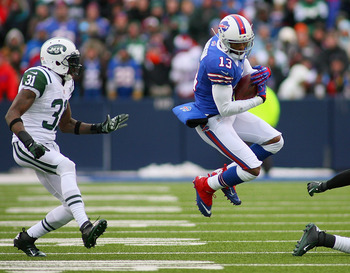 Stevie Johnson became the first Bills receiver with three consecutive 1,000 yard seasons.