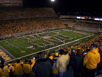 http://en.wikipedia.org/wiki/File:WVU_Opening_Game_Mountaineer_Field.jpg