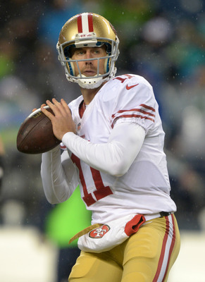Alex Smith has likely appeared in his last game as a 49er.