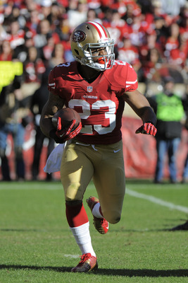 LaMichael James had a big game for the 49ers.