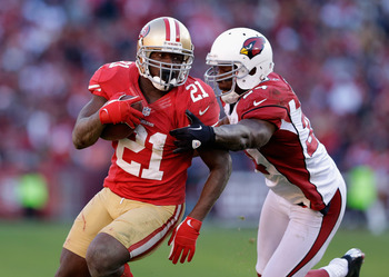 Frank Gore made several key plays in the 49ers' third-quarter TD drive.
