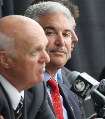General Manager Lou Lamariello has a big offseason ahead of him, hockey or not.