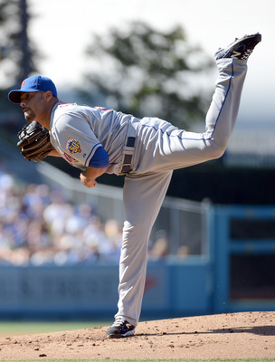 Johan Santana pitched like the ace of old early last season.