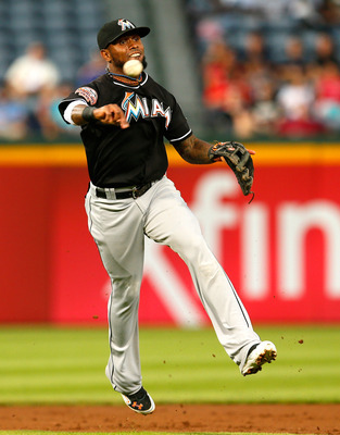 Jose Reyes is no longer with the Miami Marlins.