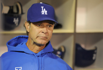 Dodgers manager Don Mattingly.