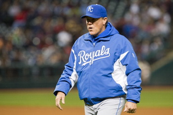 Royals manager Ned Yost.