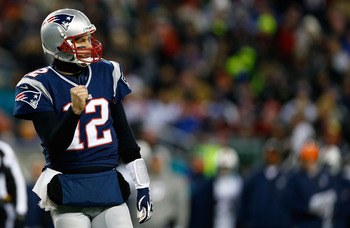 There was plenty of time for fist pumps during New England's rout.
