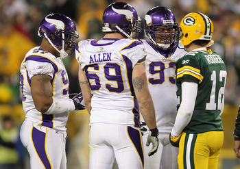It will be the Packers against the Vikings on Saturday at Lambeau Field.