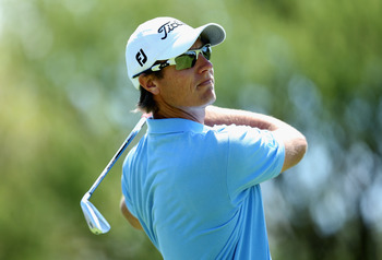 Nicolas Colsaerts launches the ball great distances.