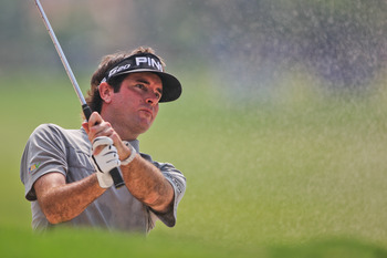 Bubba Watson won't be close to contention at Augusta.