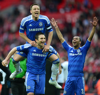 Terry, Lampard, Cole