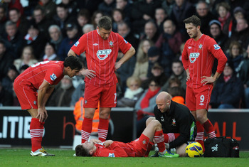 Adam Lallana's injury has been a huge blow to Southampton.