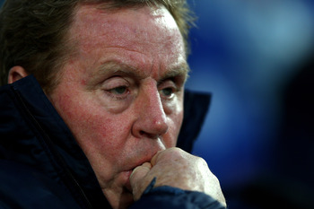 QPR manager Harry Redknapp has endured a tumultuous 2012