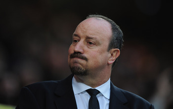 Chelsea interim manager Rafael Benitez is enjoying some success at Stamford Bridge