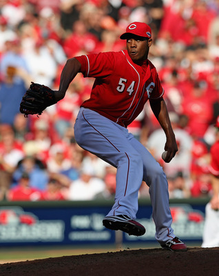 Aroldis Chapman could be a Cy Young contenderor a flopin the rotation.
