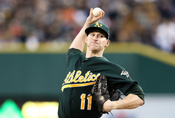 Jarrod Parker made people forget about Trevor Cahill, the guy the A's traded to obtain him.