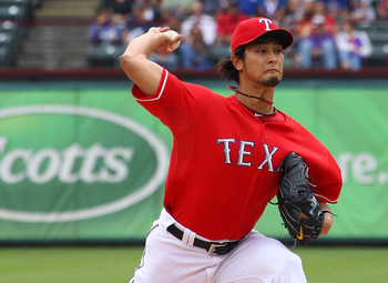 Darvish was excellent for the Rangers in 2012.