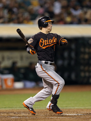 Nate McLouth is back at the top of the Orioles' order.