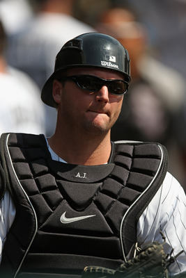 A.J. Pierzynski won't make up for the loss of Josh Hamilton.