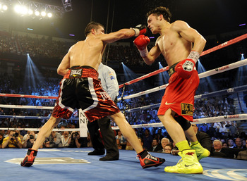 It was high drama in the final round of Sergio Martinez's meeting with Julio Cesar Chavez, Jr. on Sept. 15.