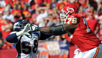 Branden Albert is a good left tackle whom the Chiefs should retain.