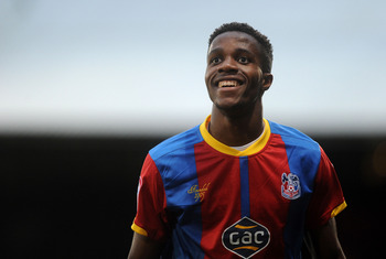 Wilfried Zaha has helped Crystal Palace into the top six of the Championship this season.
