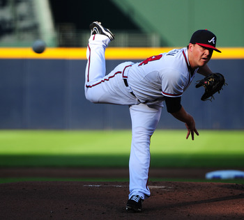 Kris Medlen is locked into a rotation spot this year.